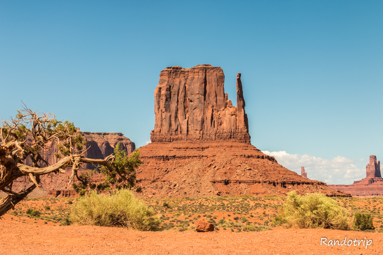 Elephant Butte à Monument Valley