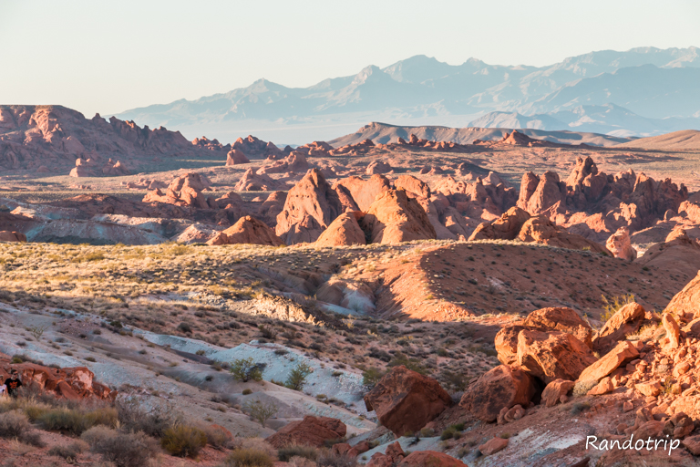 Valley Of Fire: des couleurs impressionnantes