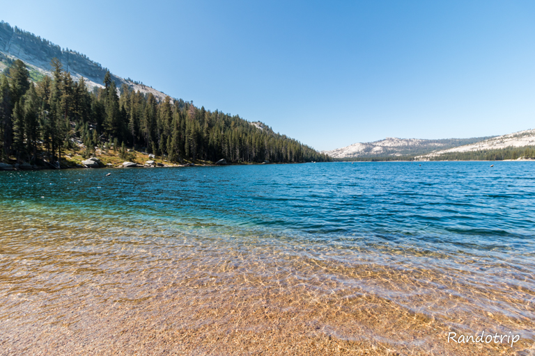 Le Tenaya Lake à Yosemite en Californie