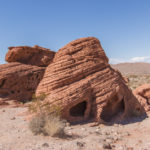 Beehives à Valley of Fire State Park dans le Nevada