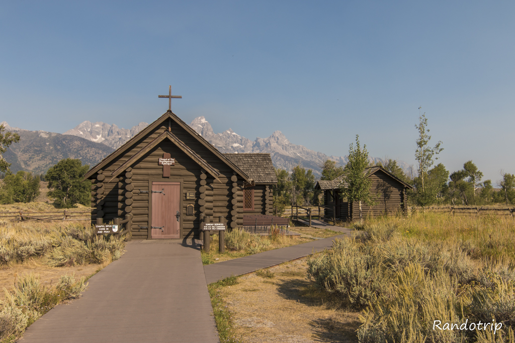 La chapelle de la Transfiguration à Grand Teton National Park dans le Wyoming