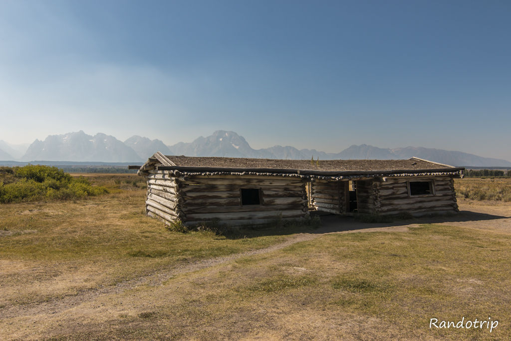 La Cunningham Cabin à Grand Teton National Park dans le Wyoming