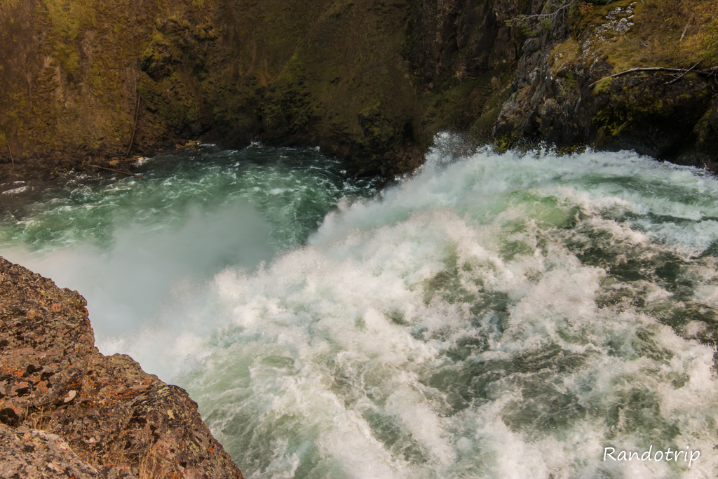 Brink Of The Upper Falls au Grand Canyon de Yellowstone