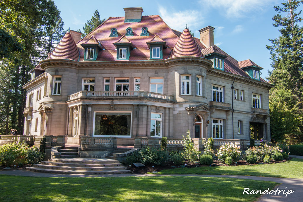 La Pittock Mansion à Portland dans l'Oregon