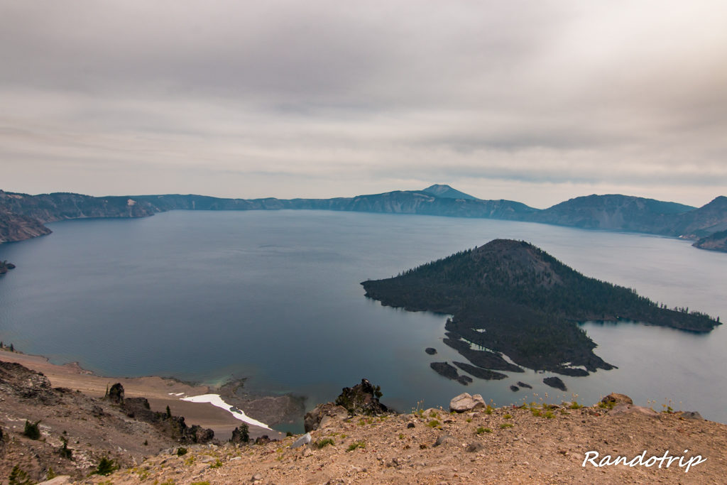 Watchman Overlook à Crater Lake dans l'Oregon