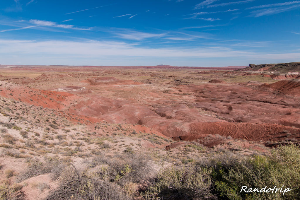 Painted Desert en Arizona