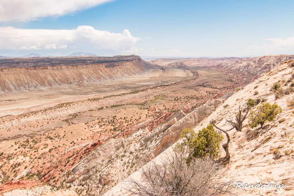 Strike Valley Overlook : Panorama grandiose au coeur de  Capitol Reef NP