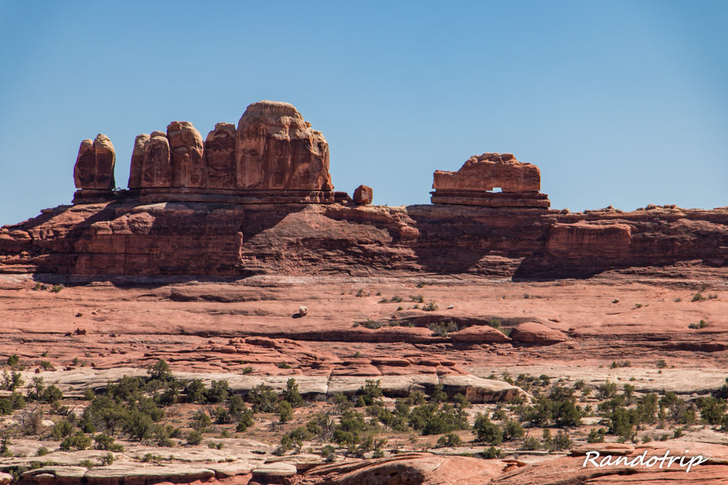 Wooden Shoe Arch Overlook dans Canyonlands-The Needles en Utah