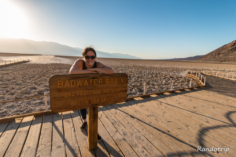 Badwater à Death Valley en Californie