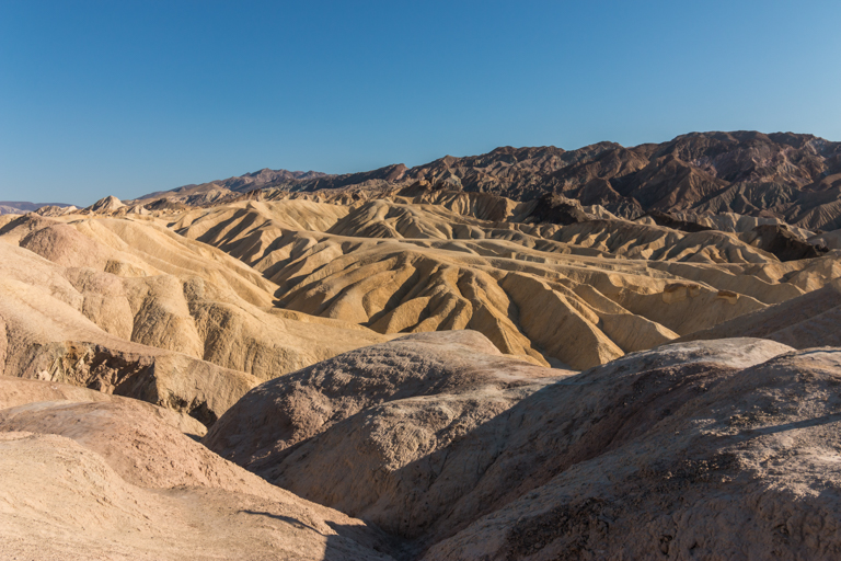 Zabriskie Point à Death Valley en Californie
