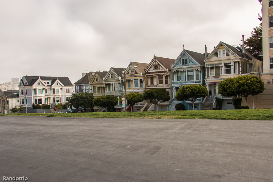 Les Painted Ladies à San Francisco en Californie