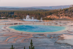 Yellowstone Secteur Old Faithful : le pays des Geysers