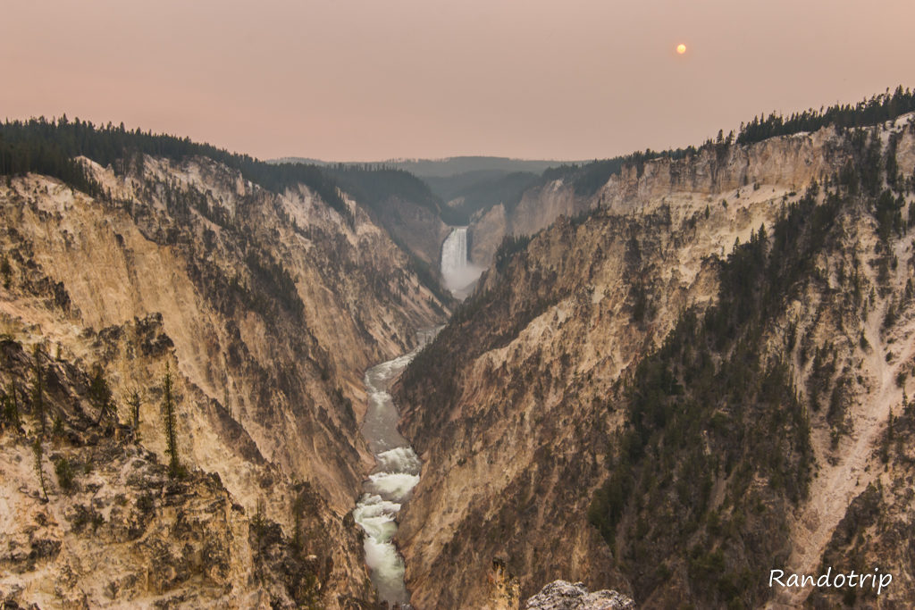 De Cody au majestueux Grand Canyon of Yellowstone