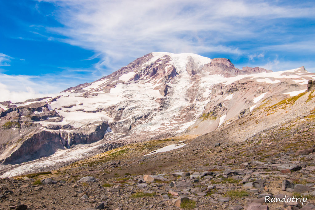 Le Mount Rainier National Park : Le Geant endormi