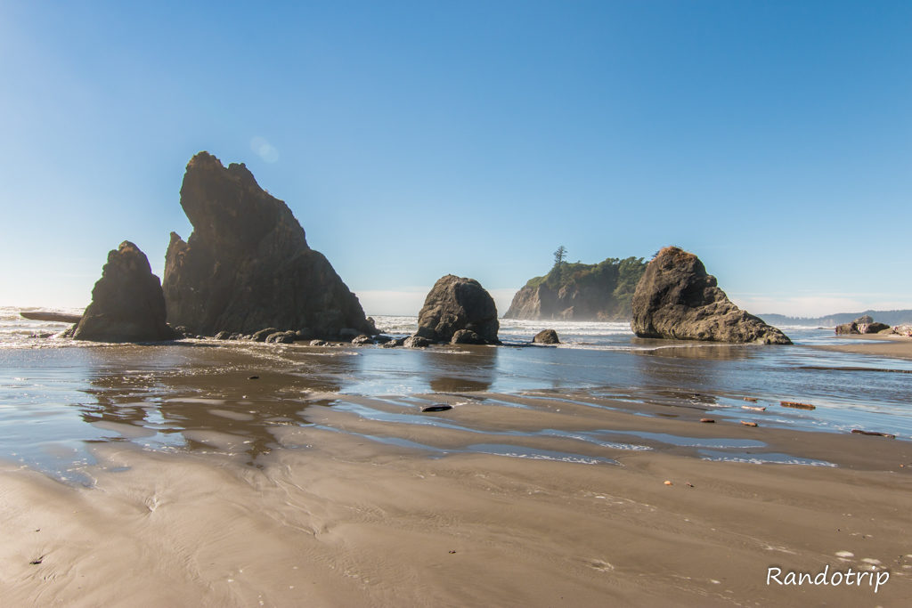Ruby Beach à Olympic National Park dans l'Etat de Washington