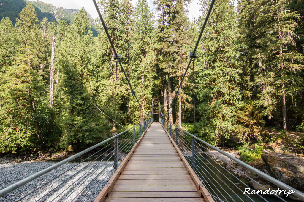 Le Staircase Rapids Loop Trail à Olympic National Park (Washington)