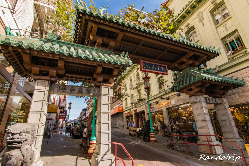 La Dragon Gate de Chinatown à San Francisco